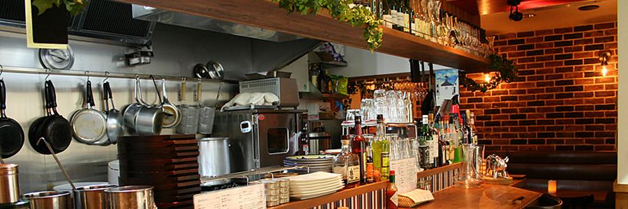 飲食店設計実績:洋食屋 百次(名古屋市中区)