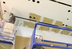 天井塗装(白)